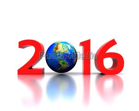Swiatowy swietuje nowy rok 2016