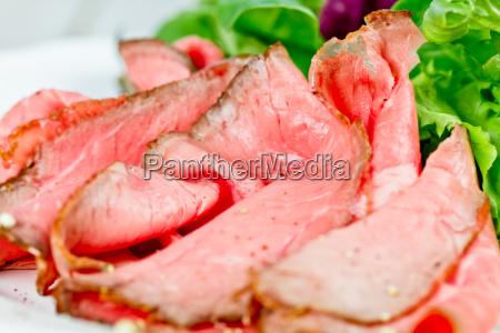 medium stek stek wolowy pieczona podjadac