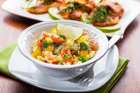 salatka z kuskus
