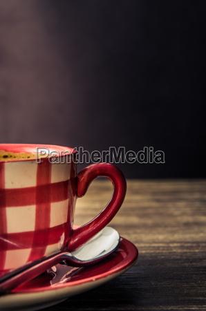 vintage styl szczegolowo filizanki kawy na