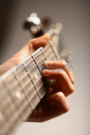 akustyczna gitara detal