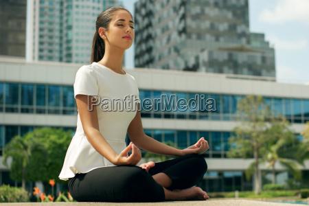 relax firm joga kobiety lotus miejsca