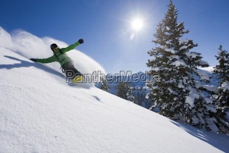 a snowboarder co kilka swiezych utworow