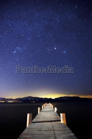 molo na wschodnim brzegu jeziora tahoe
