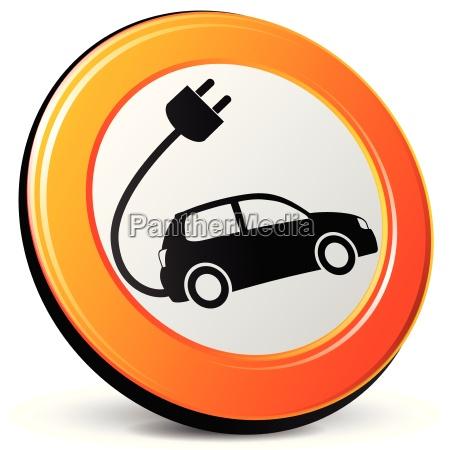 ikona samochod elektryczny
