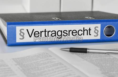 kontrakt zakontraktowane ustawa abheften przechowywac tack