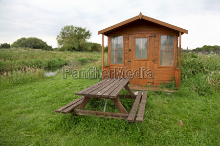shed stol krajobraz natura