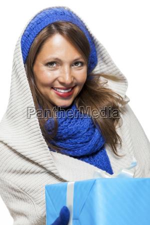 kobieta womane baba zwolniony zima zimowy