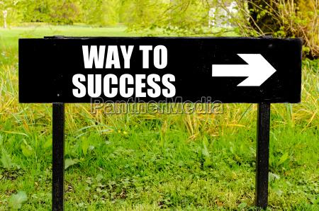 droga do sukcesu napisane na kierunkowe