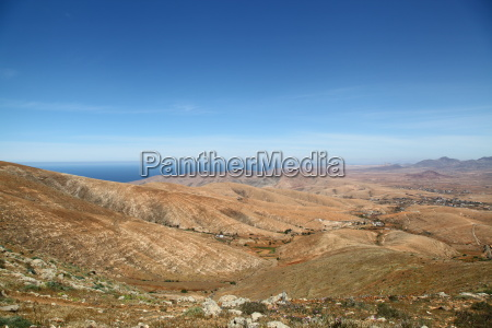 hill mountains canary islands scenery countryside