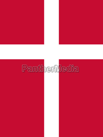 flaga danii pionowe