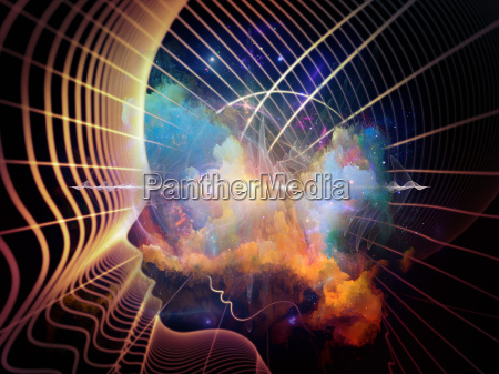 kolorowe wewnetrzna geometria