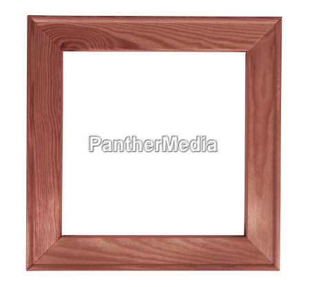 dark square wooden picture frame