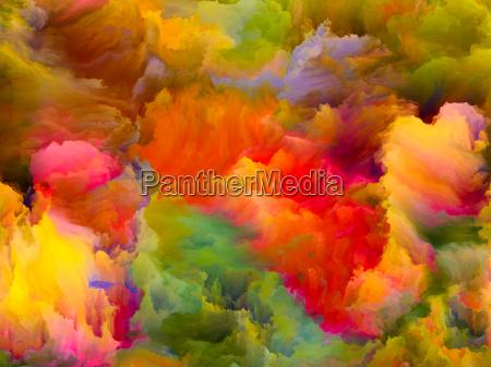 cyfrowy zycie od kolor