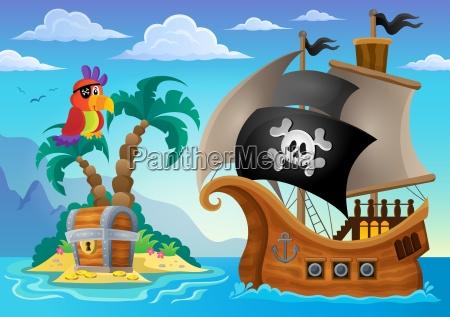 small pirate island theme 2