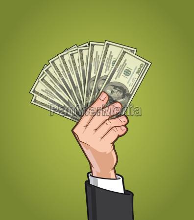 dolar zlotowka dol dolarow okazywanie popis