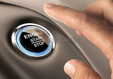 przycisk startowy