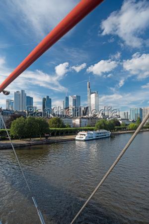 niebieski miasto grod town wody nowoczesne