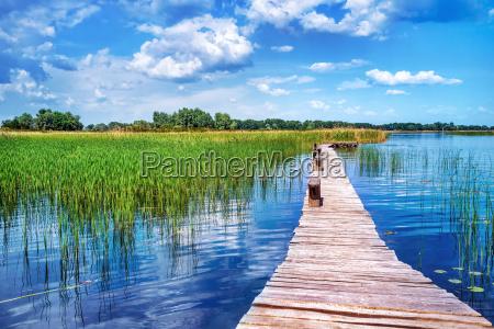 piekny krajobraz przyrody