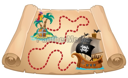 pirate scroll theme image 1