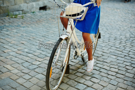bike and bicyclist