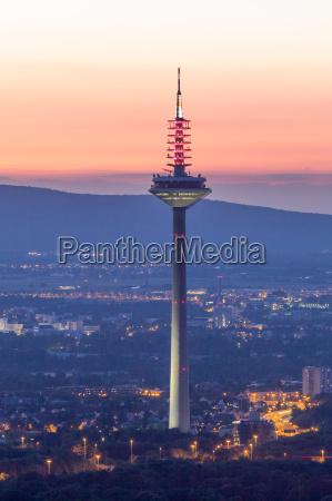 tower of europe in frankfurt main