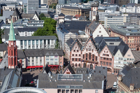 roembergerg in frankfurt main germany
