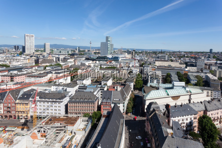 city of frankfurt main germany