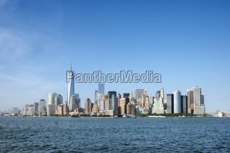 metropolia usa skyline new york wiezowce