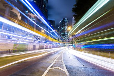 hong kong zajety ruchu drogowego w