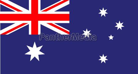 spolecznosc australia piaty kontynent kolonia flaga