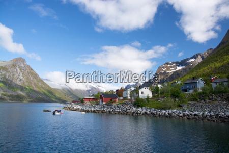 gryllefjord senja norwegia