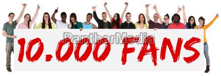 lubi 10000 fanow grupy spolecznej media