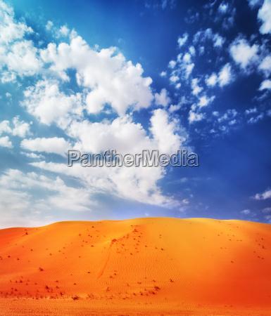 piekny pustynny krajobraz