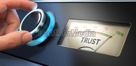 koncepcja zaufania w biznesie
