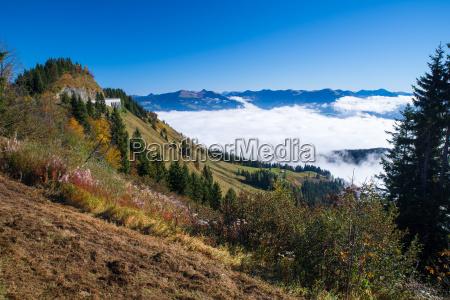 ross pole panorama droga w berchtesgaden