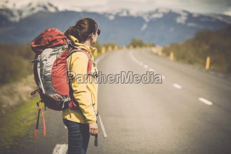 turysta backpacker