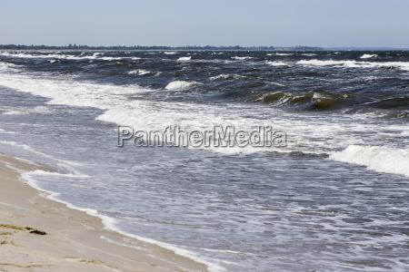burzliwe morze baltyckie