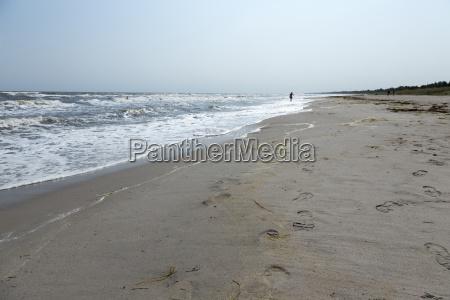 samotny na plazy