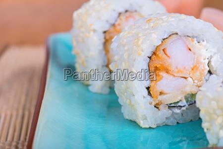 kalifornia ogorek suszi sushi california semmel