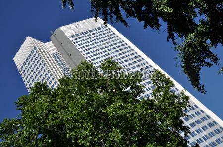 high rise building in frankfurt