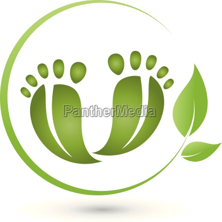 dwie nogi i liscilogopielegnacja stop