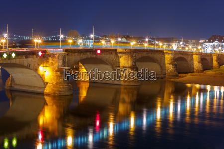 most augusta elba noca drezno niemcy