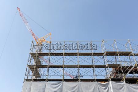 budowa nowego budownictwa ogrodzenie terenu budowy