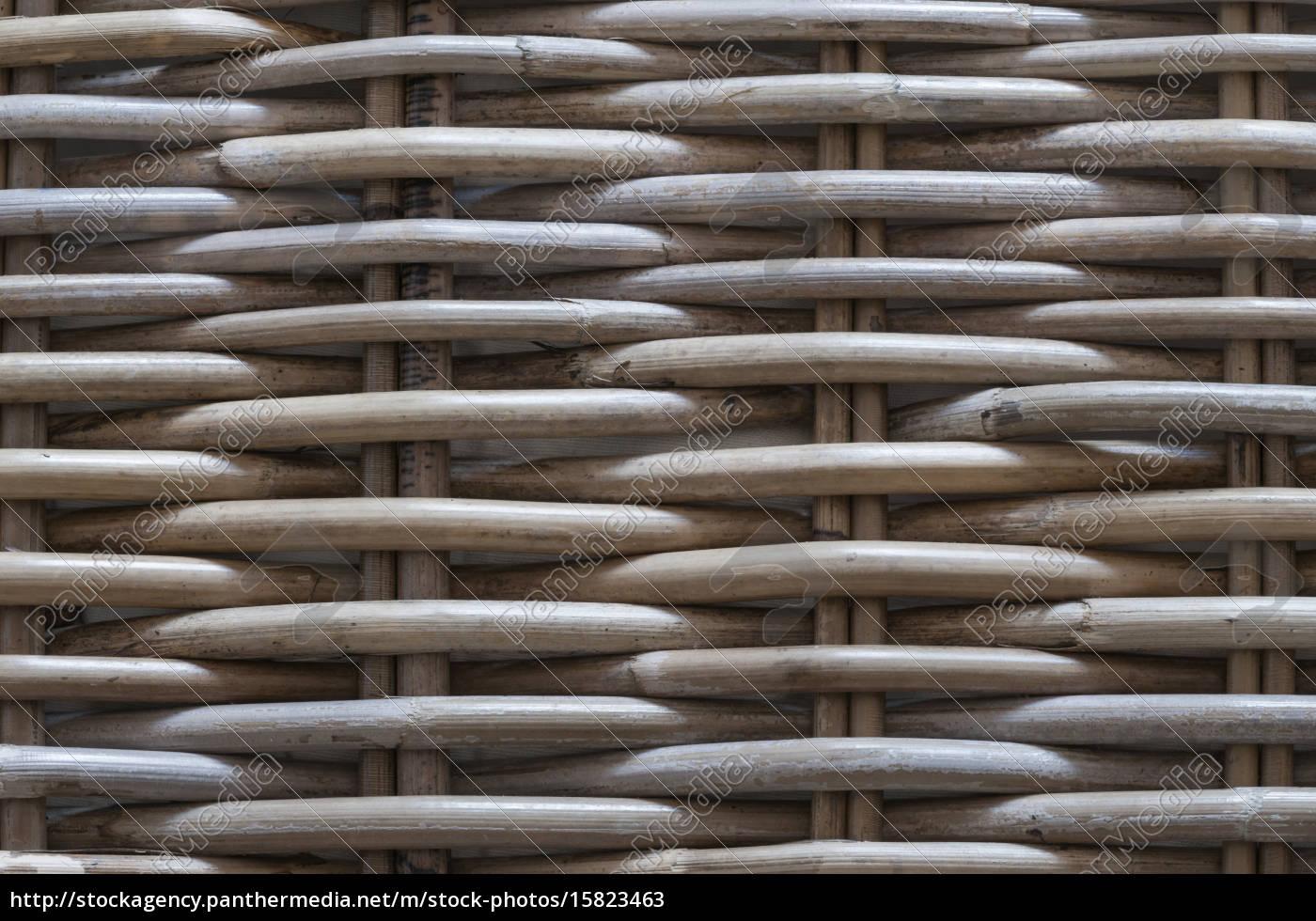 tło, wykonane, z, plecionych, wyrobów, koszowych - 15823463