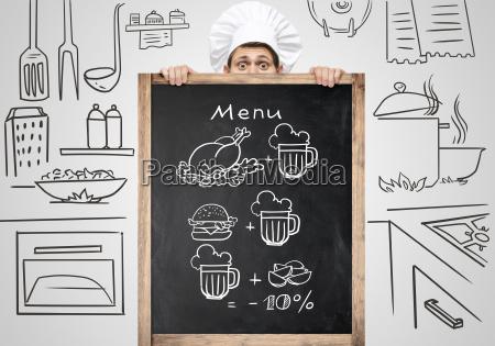 tablica do menu