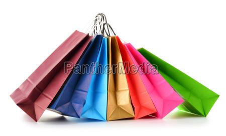 torby na zakupy papierowe izolowane na