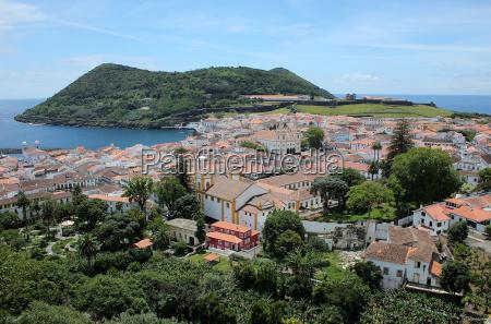 stolica portugalia koscioly azory wyspa