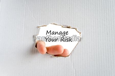 zarzadzanie koncepcja tekstu ryzyka