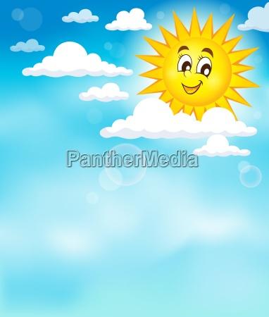 oblok chmura chmurka chmurki sunshine zachmurzenie